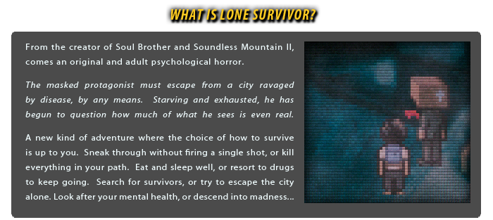 WHAT IS LONE SURVIVOR?